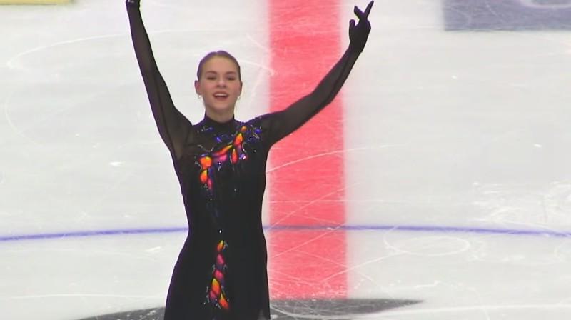 Angelina Kučvaļska. Foto: Figure Skating Belarus