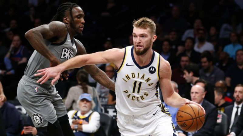Domants Sabonis. Foto: USA Today Sports/Scanpix