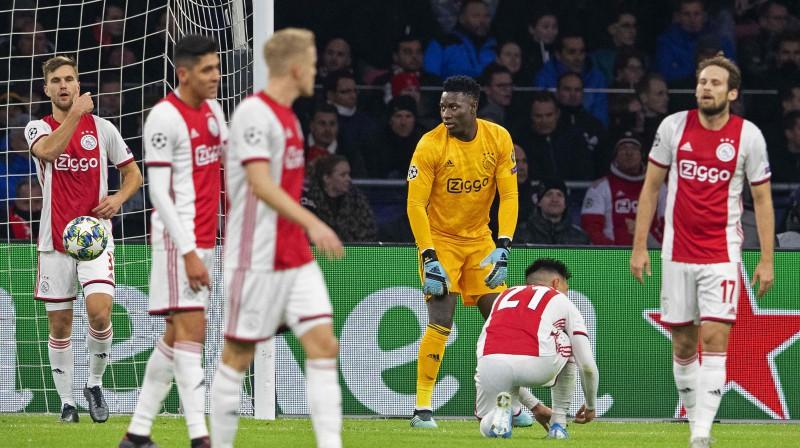 """Amsterdamas """"Ajax"""". Foto: AFP/Scanpix"""