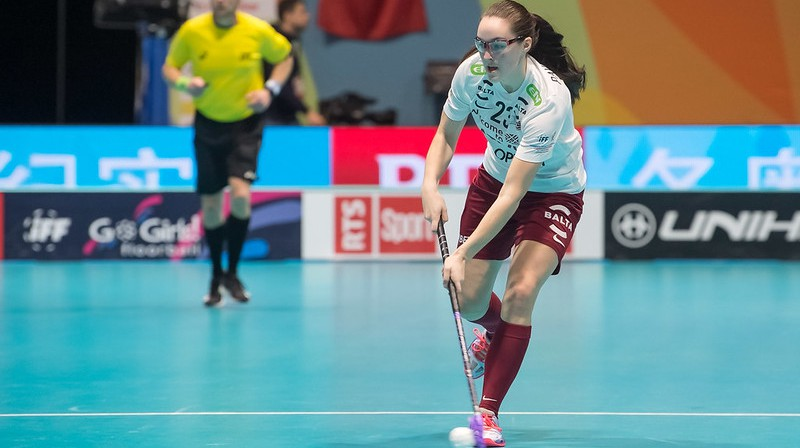 Elizabete Pavlovska Foto: Floorball.lv