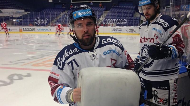 Roberts Bukarts. Foto: HC Vítkovice Ridera