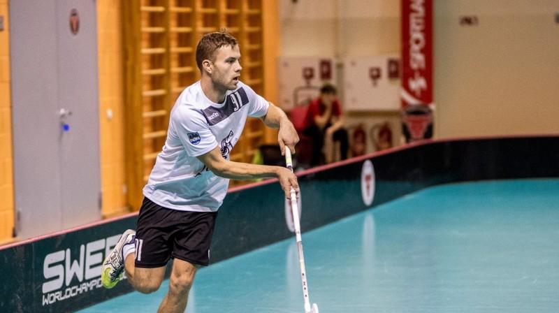 Edijs Hammers Foto: Floorball.lv