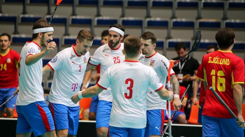 Čehijas izlase Foto: IFF Floorball