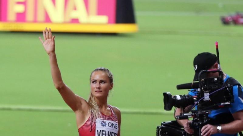 Līga Velvere. Foto: Reuters/Scanpix