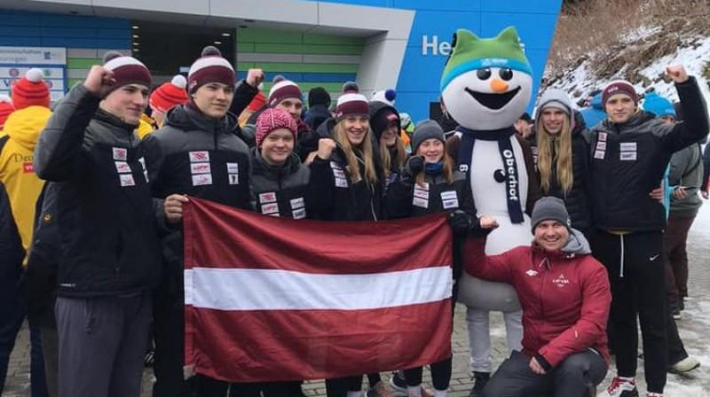 Latvijas delegācija. Foto: facebook.com/lugelv