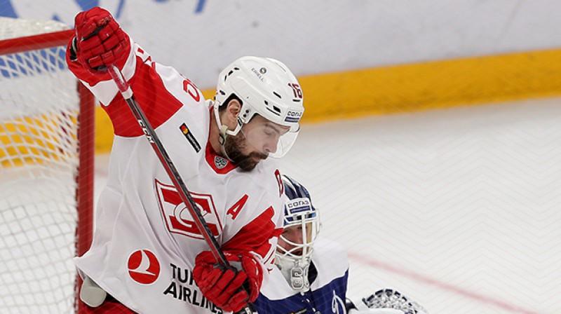 Kaspars Daugaviņš. Foto: spartak.ru