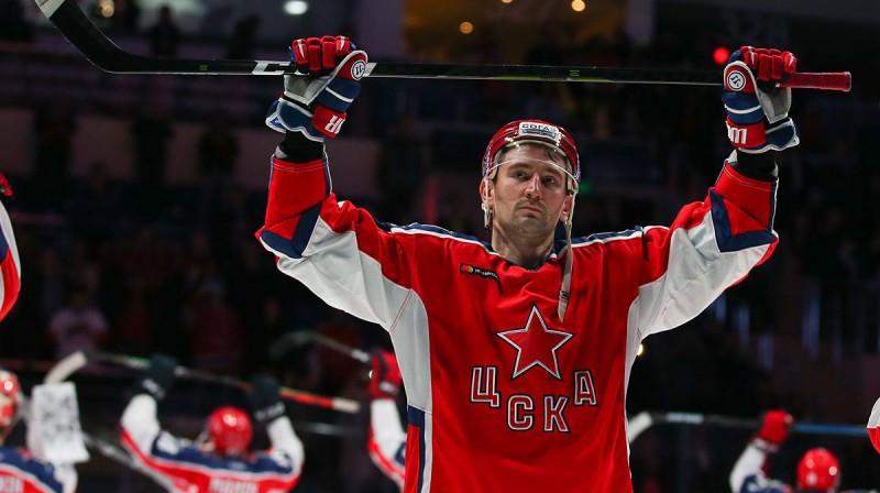 Antons Sļepiševs. Foto: cska-hockey.ru