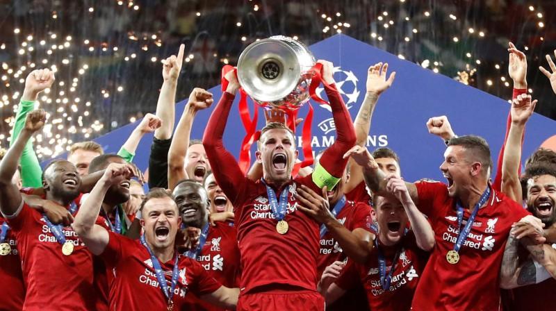"Džordans Hendersons un ""Liverpool"". Foto: Reuters/Scanpix"