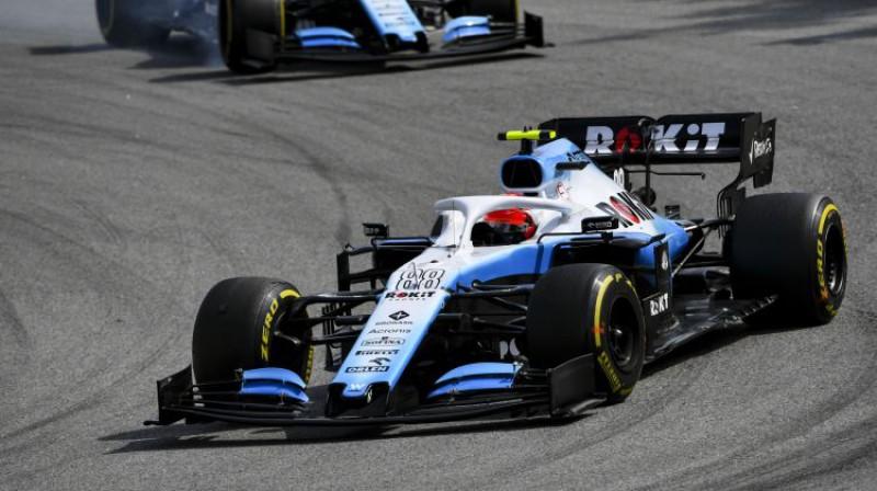 "Roberts Kubica ""Williams"" formulā 2019. gada sezonā. Foto: imago images/Motorsport Images/Scanpix"
