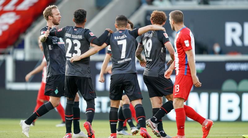 """Brēmenes """"Werder"""". Foto: Imago Sport/Scanpix"""