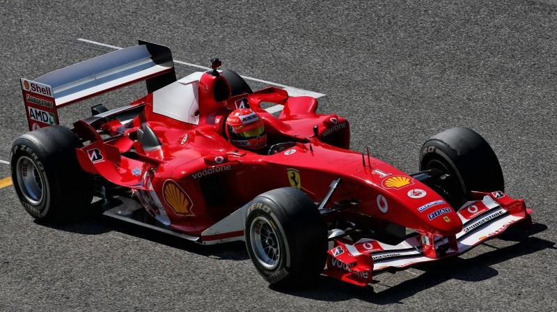 """Miks Šūmahers """"Ferrari F2004"""" formulā. Foto: Motorsport.com"""
