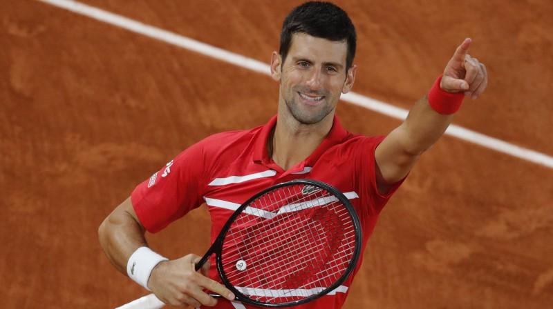 Novaks Džokovičs. Foto: AP/Scanpix