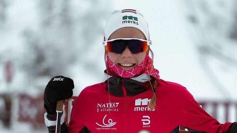 P.Eiduka ir pirmā no distanču un kalnu slēpotājiem neatkarīgajā Latvijā, kurai izdevies divas reizes iekļūt PK posmos trīsdesmitniekā.