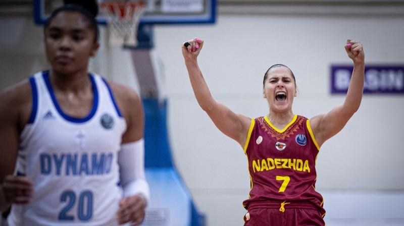 Elīna Babkina: astotā uzvara Krievijas Premjerlīgā. Foto: FIBA