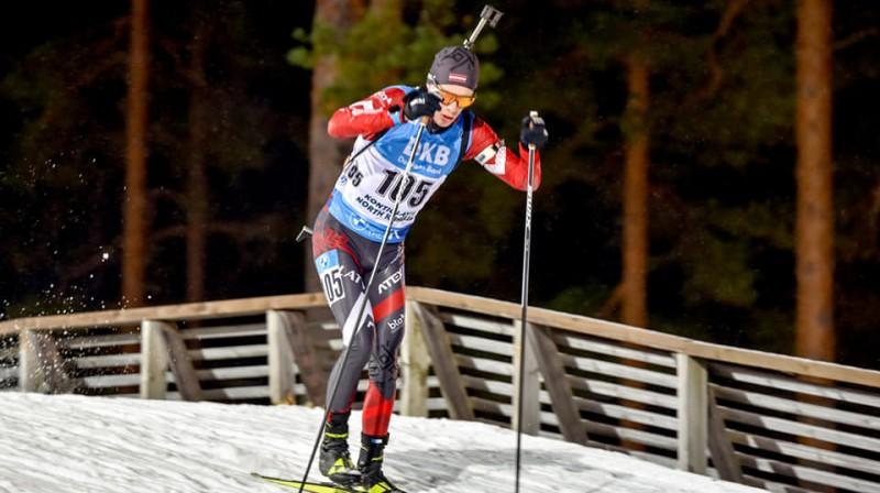 Kirils Matjuhins. Foto: Latvijas Biatlona federācija