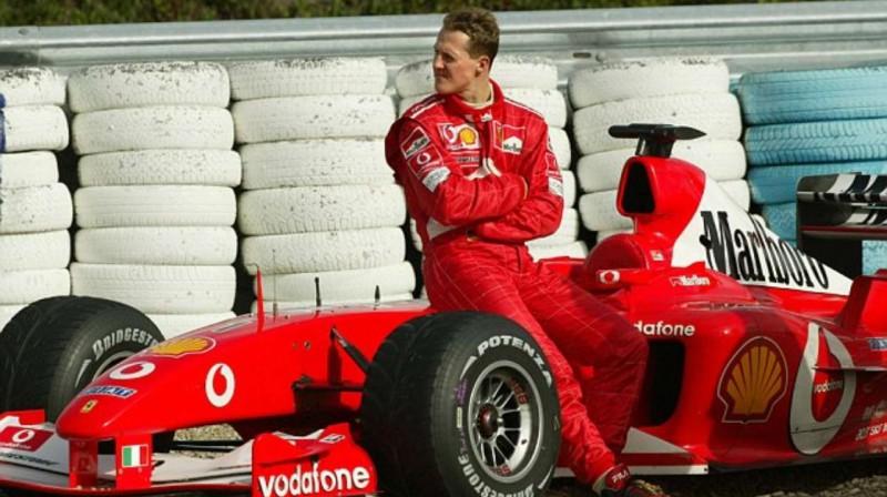 "Mihaels Šūmahers ""Ferrari"" laikos. Foto: Motorsport.com"