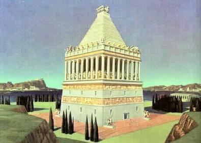Halikarnāsas mauzolejs - viens no 7 pasaules brīnumiem