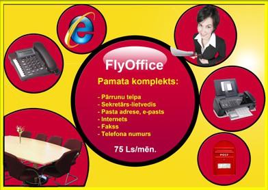 Mazā un vidējā biznesa ekonomiskā administrēšana jeb mobilais ofiss FlyOffice