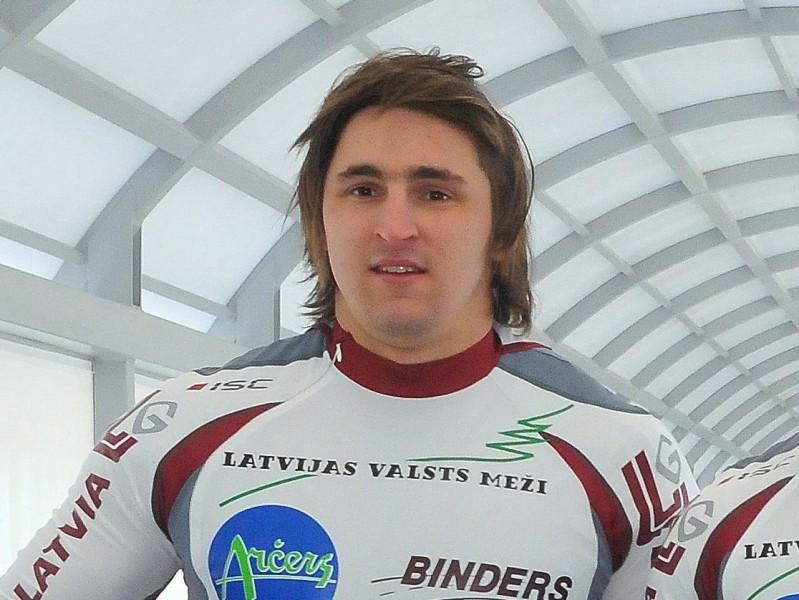 Melbārža divniekam Vinterbergā starta rekords un trešā vieta