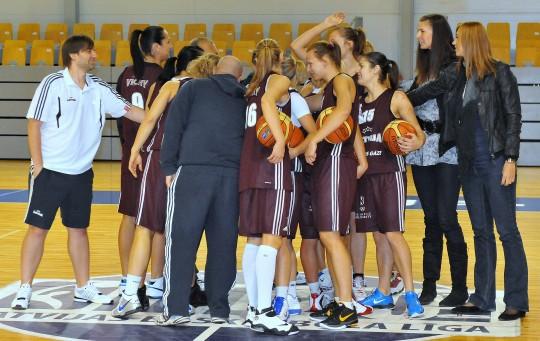 Latvija sacentīsies ar pasaules vicečempionēm