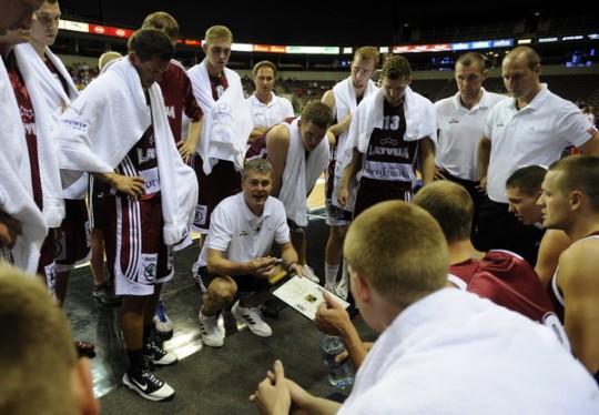 Latvijas vīri atkāpjas uz 38. vietu FIBA rangā