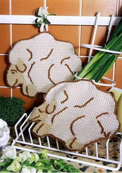 Izšūšanas shēmas ar aitiņām taviem rokdarbiem