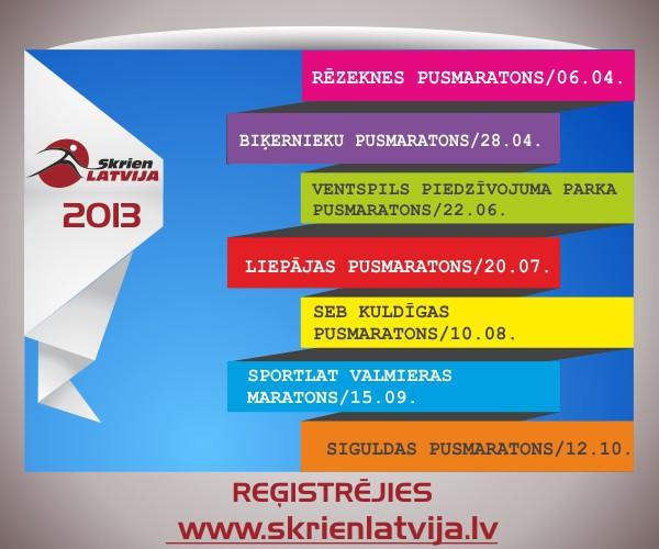 """""""Skrien Latvija 2013"""" sezona ir klāt"""