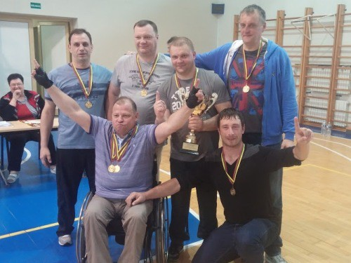 Latvijas sēdvolejbolisti uzvar Baltijas līgas turnīrā Lietuvā