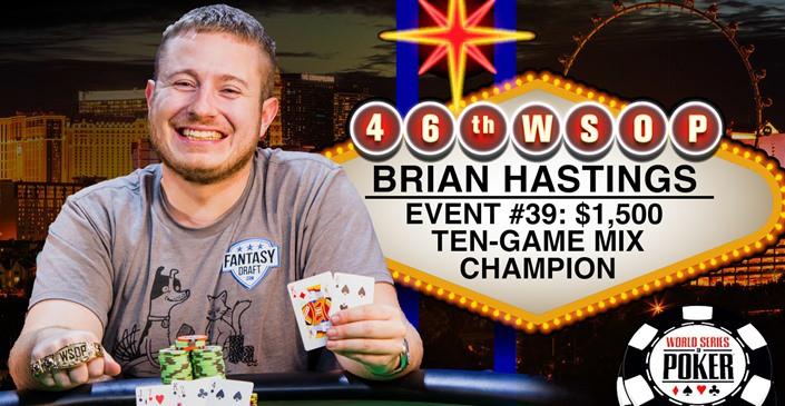 Pokera spēlētājs 10 dienu laikā iegūst 2 WSOP aproces