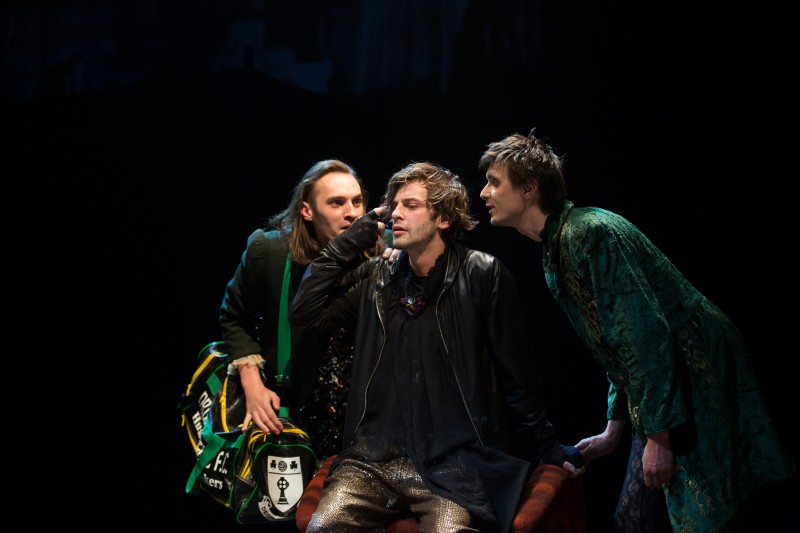 """Hamlets"" Daugavpils teātrī – avangards un neierasti eksperimenti"