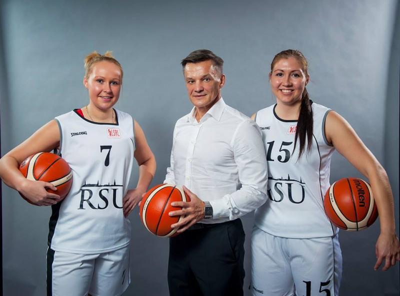 """Guna Lagzdiņa un Ance Aizsila ieved RSU """"Top 4"""" turnīrā"""