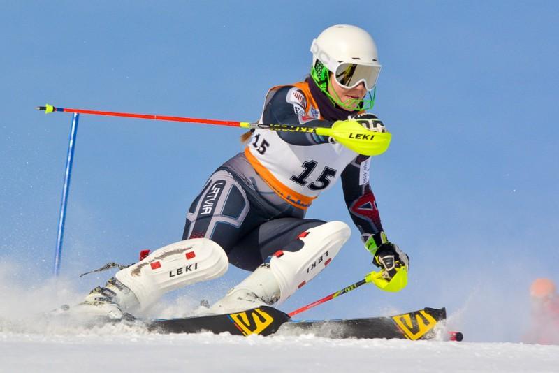Āboltiņa ar atzīstamu sniegumu izcīna trešo vietu Somijas čempionāta slalomā