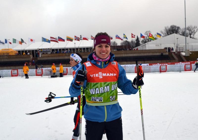 Pasaules kausā sprintā Otepē slēpotājiem Bikšem un Paškovskai labs starts