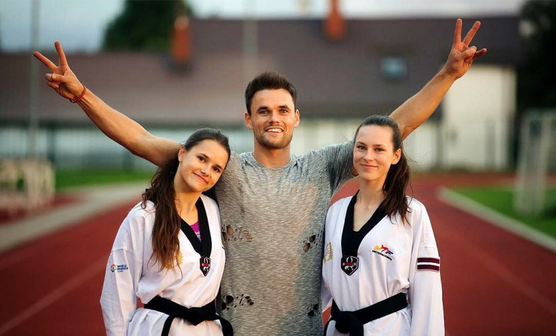 Māsām Tarvidām sudrabs un bronza Eiropas čempionātā