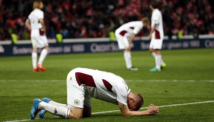 Bez emocijām: Latvijas izlases vieta Eiropas kartē - pundurvalsts