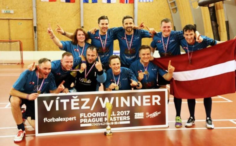 """Senioru komanda """"Rīga"""" izcīna """"Prague Masters"""" zeltu"""