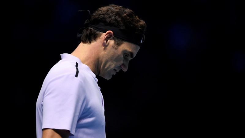 """Šoks Londonā: Federers """"ATP Finals"""" turnīra pusfinālā zaudē Gofānam"""