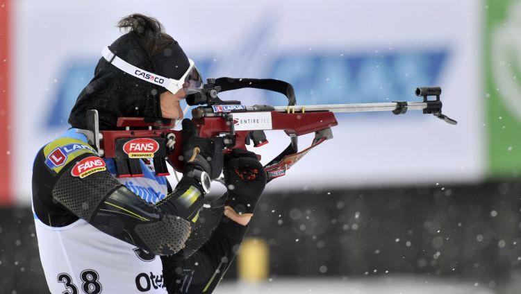 Otepē latvieši šauj neprecīzi, augstas vietas izcīna igauņu biatlonisti