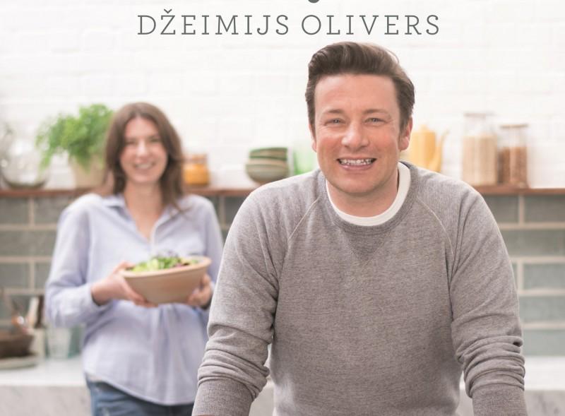 Izdota jauna Džeimija Olivera pavārgrāmata