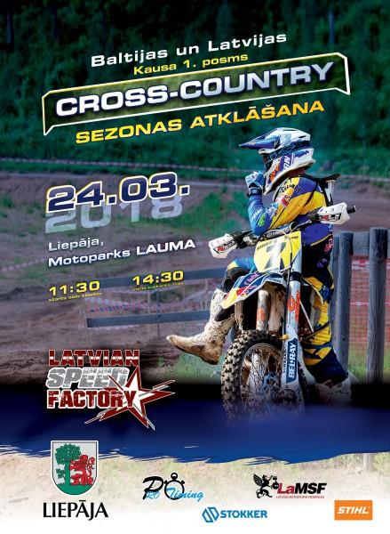 """""""Cross Country"""" sacensības notiks trasē, kur savulaik panākumus guvis Jonass"""