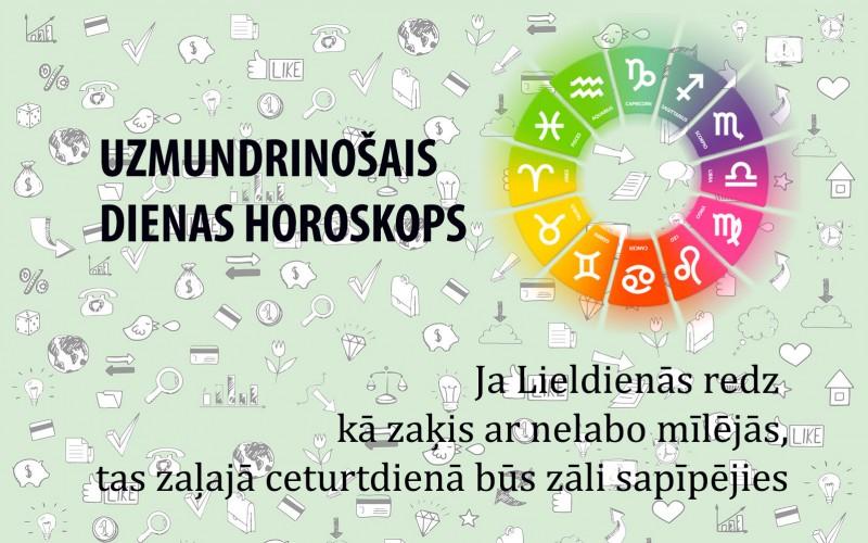 Uzmundrinošie horoskopi 30. martam visām zodiaka zīmēm