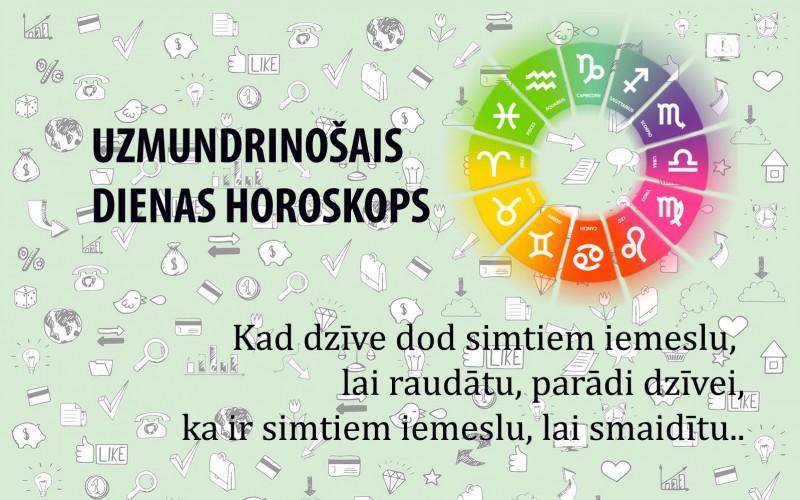 Horoskopi veiksmīgai dienai 12. maijam