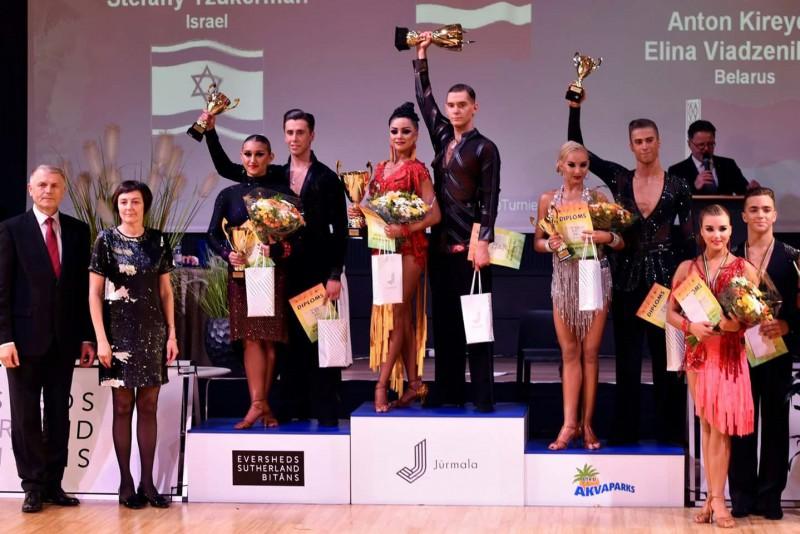 Jūrmalā atgriezušās starptautiskās sporta deju sacensības