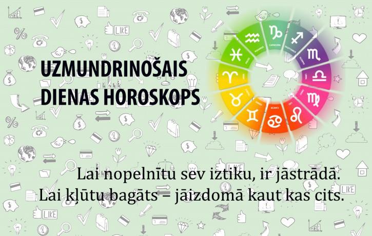 Horoskopi veiksmīgai dienai 8. jūnijam