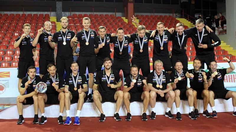 Volejbola izlase izcīna Eiropas Sudraba līgas bronzu