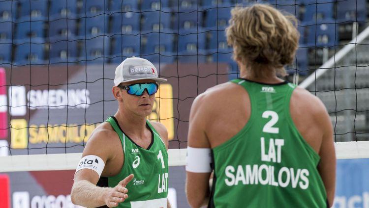 Samoilovs un Šmēdiņš netiek galā ar brazīliešiem un spēlēs par bronzu