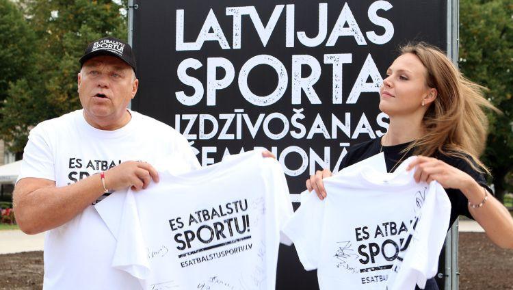 Latvijas sportistu, treneru un organizāciju atklātā vēstule valdībai un partijām