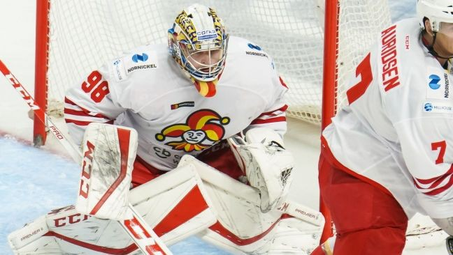 """Indrašim piespēle """"Dynamo"""" uzvarā, Kalniņam neveiksme pret KHL līderi"""