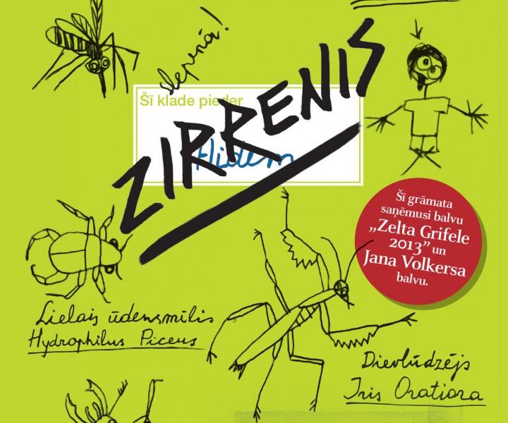 """Jauna bērnu grāmata no Nīderlandes - """"Zirrenis"""""""