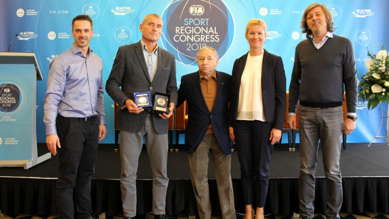 Žans Tods atzinīgi izsakās par FIA Eiropas reģionālo Sporta kongresu Latvijā